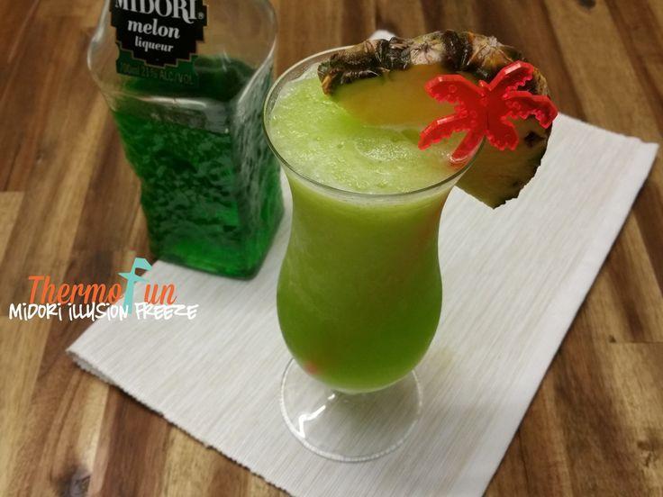 Thirsty Thursday – Midori Illusion Freeze Recipe