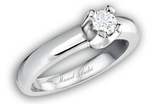 ASF - 004 Or et diamant disponible chez Marcel / André diamantaire www.marcelandre.com