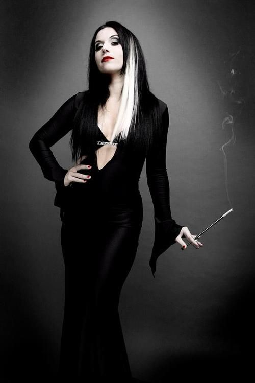 Cristina Scabbia of Lacuna Coil, Halloween photoshoot