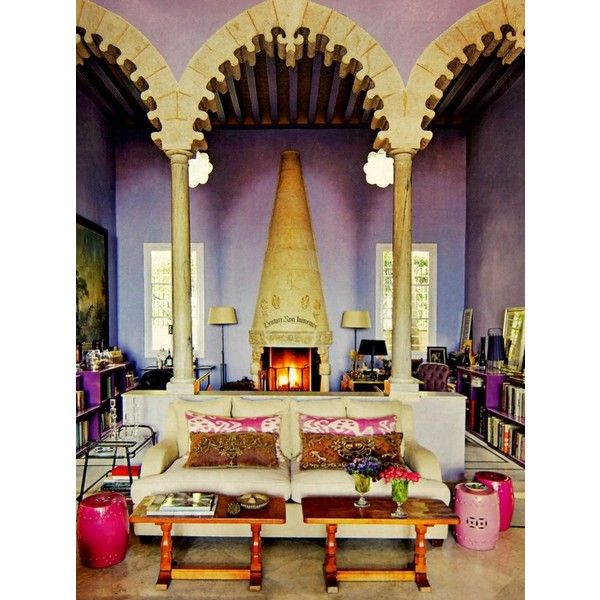 Bohemian Interior Moroccan Style Shower Room Found On Polyvore