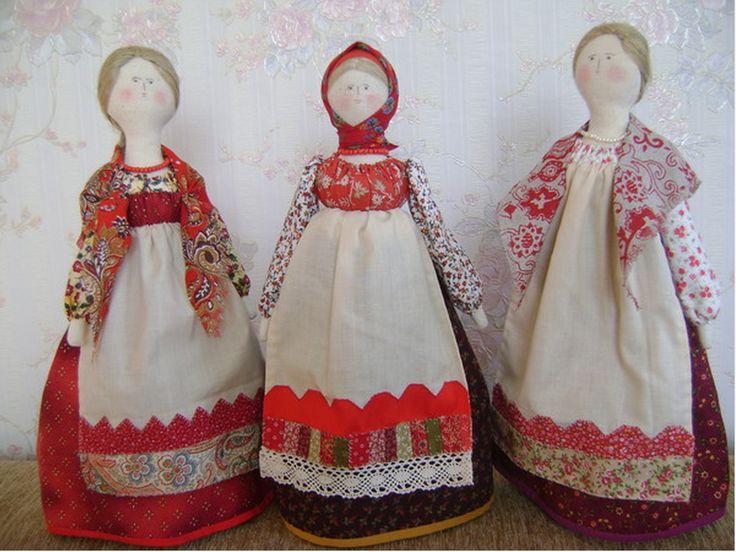 Куклы Елены Вернидубовой