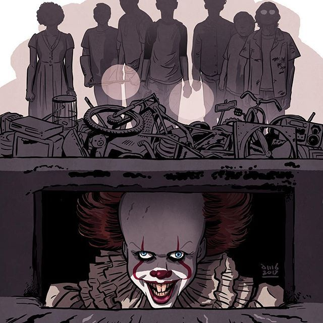 Movies I liked this summer: IT   #it #it2017 #pennywise #billskarsgard   #youllfloattoo