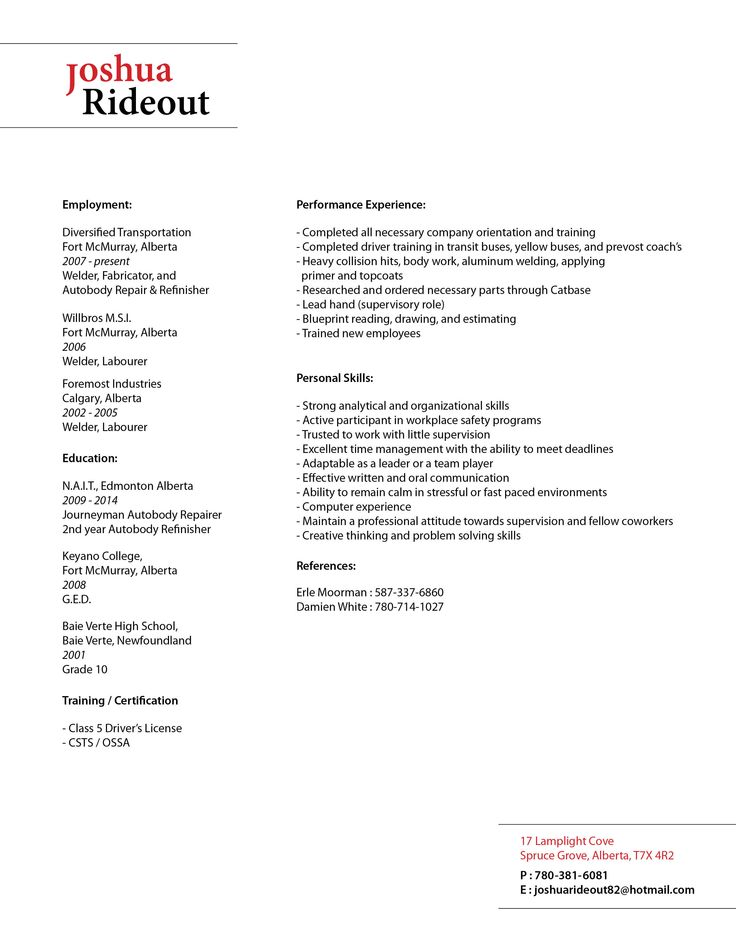23 best Resume Inspiration images on Pinterest Cards, Columns - parts of a resume