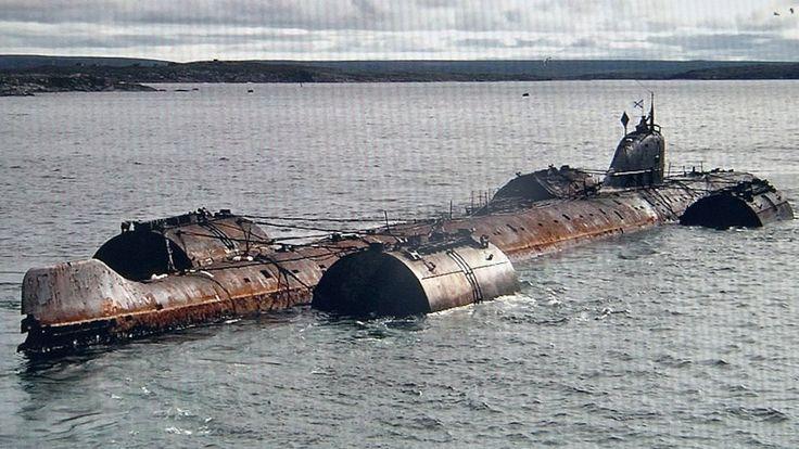 Flotte russe  | Les déchets nucléaires en mer - ecologie-pratique.org