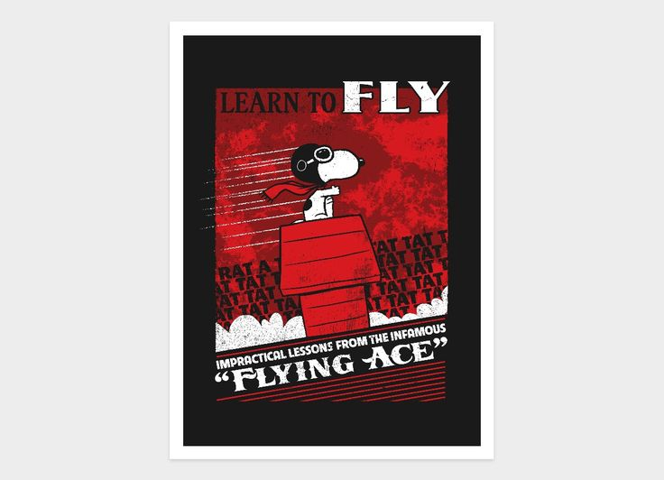 Check out the design Flying Ace by Justin White on Threadless