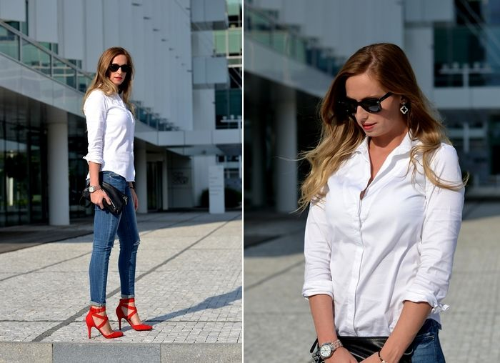 Style Cookbook by Simone: {outfit} white shirt