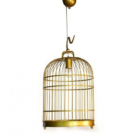 Bird Cage Pendant- Yellow available on Wysada.com