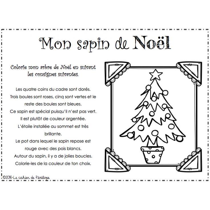 Le cahier de Pénélope Activités de Noël en lecture et écriture (simplement télécharger et imprimer) Remplies de jolies images de Noël.