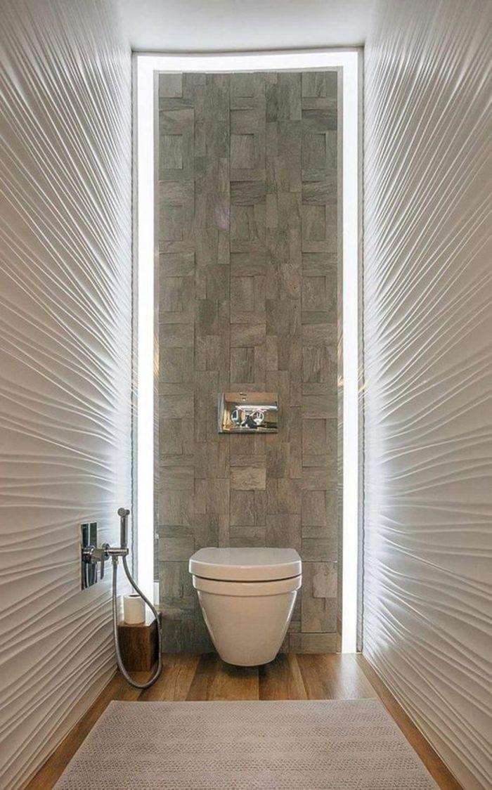 modele carrelage salle de bain, salle de bain 4m2, idee salle de ...