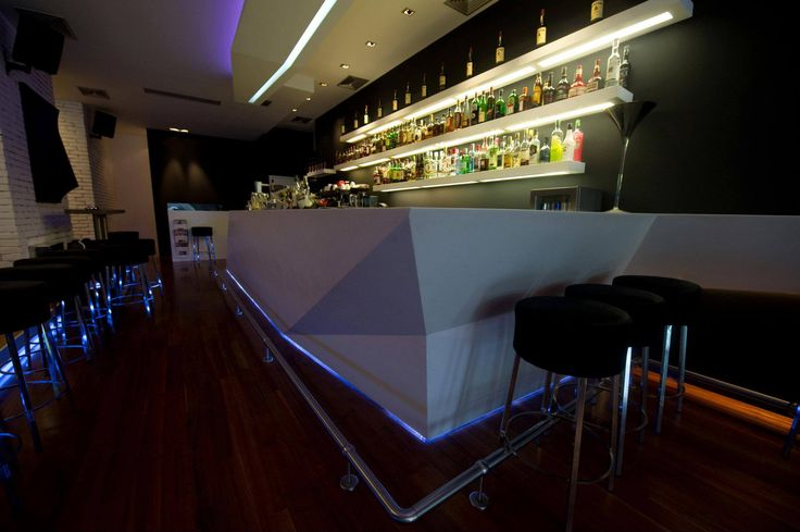 Frame Bar with corian in Ioannina... Construction by Petsis