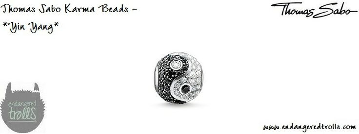 Thomas Sabo Karma Beads Yin Yang (pave)