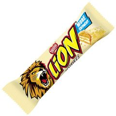 -in USA- LION White - Chunky white chocolate bar - Pack of 3
