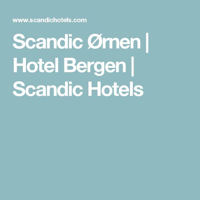 Scandic Ørnen | Hotel Bergen | Scandic Hotels