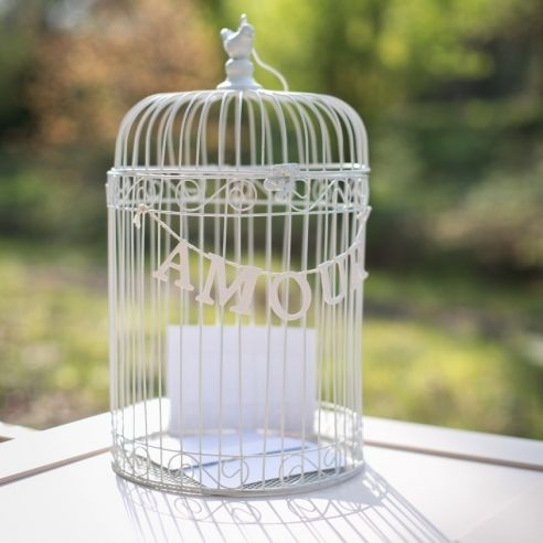 Cage oiseau amour pastel wedding pinterest mariage and decoration - Decoration cage oiseau ...