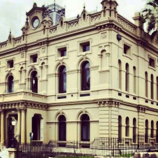 Glebe Town Hall in Forest Lodge, NSW