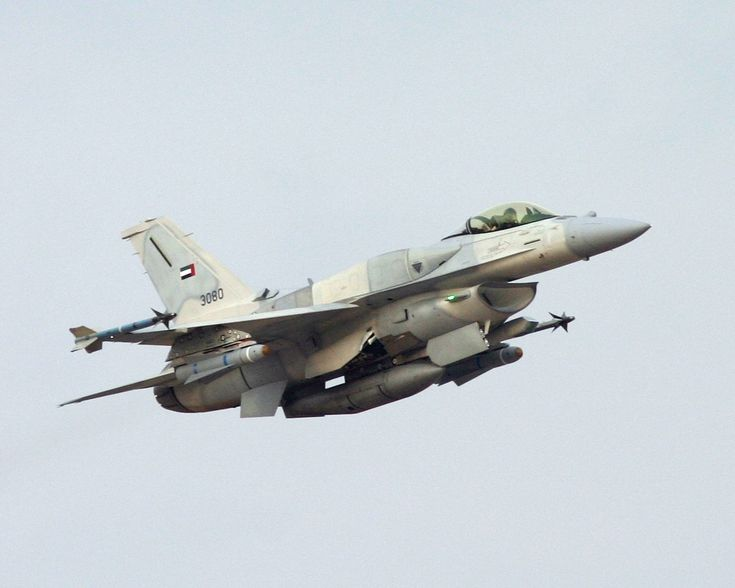 General Dynamics F16 E Fighting Falcon Block 60, United Arab Emirates.