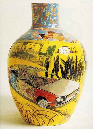Grayson Perry  Nostalgia for the Bad Times  1999