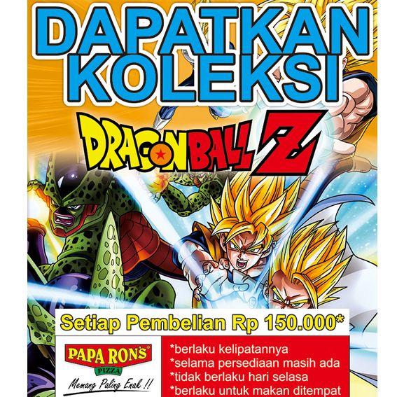 Segera Koleksi mainan Action Figure Dragon Ball Z edisi September 2014 dengan pembelian minimal 150.000 (berlaku kelipatan)