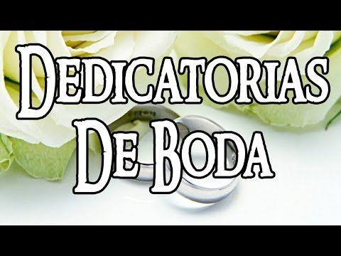 FELICITACION DE BODA - YouTube
