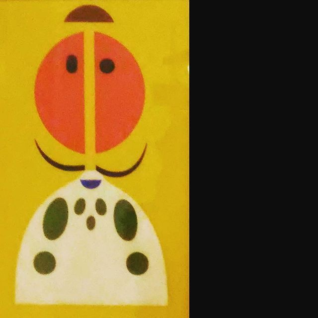 KORNISS Dezső: Miska, 1970's #ludwiggoespop #ludwigmuseum #ludwigmuseumbudapest #Budapest #exhibition #popart #oilpainting #minimalart #kunstausstellung #oilpaintoncanvas #yellow #kornissdezső #ig_artistry #portrait #abstractportrait #ig_magyarorszag #ig_budapest #artlovers #museumlover #hungarianartist #hungarianart #szentendre #decorative #decorativeart