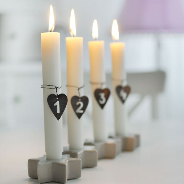 die besten 25 keramik kerzenhalter ideen auf pinterest. Black Bedroom Furniture Sets. Home Design Ideas
