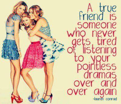 True friend.