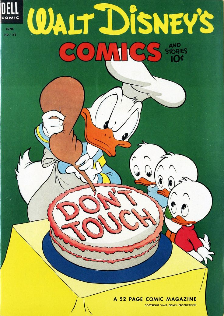 Walt Disney's Comics and Stories #153 (1953). Cover by Carl Barks