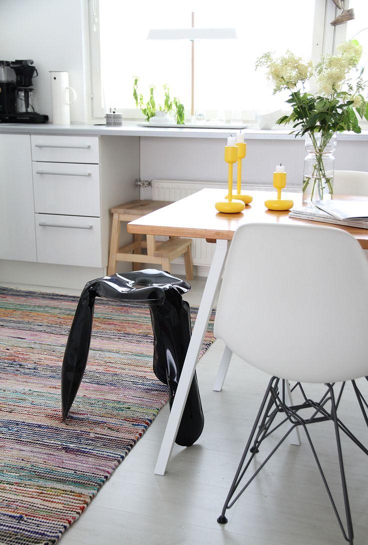 hunajaista sisustus keittio kitchen interior decoration