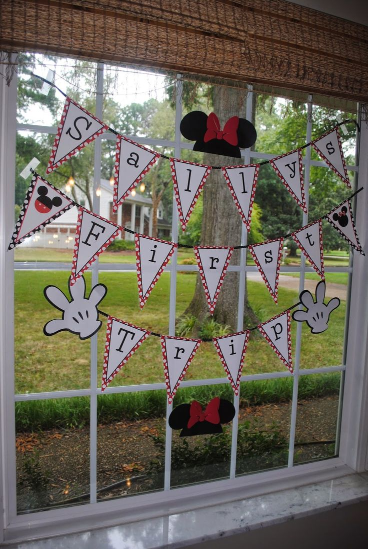 Get a customized banner for your Disney Resort window for only $5.