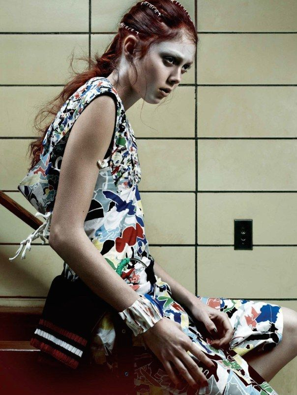 Natalie Westling by Gregory Harris for Interview Magazine March 2014