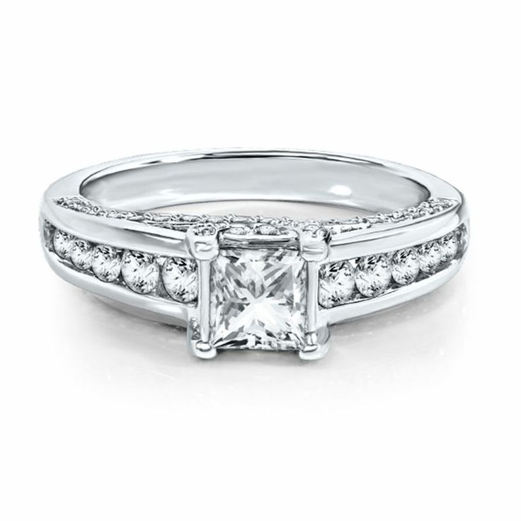Radiant Star 1 1/2CT TW Diamond Engagement Ring in 14K Gold by @Helzberg Diamonds Diamonds  #engagementring #weddings #aislestyle