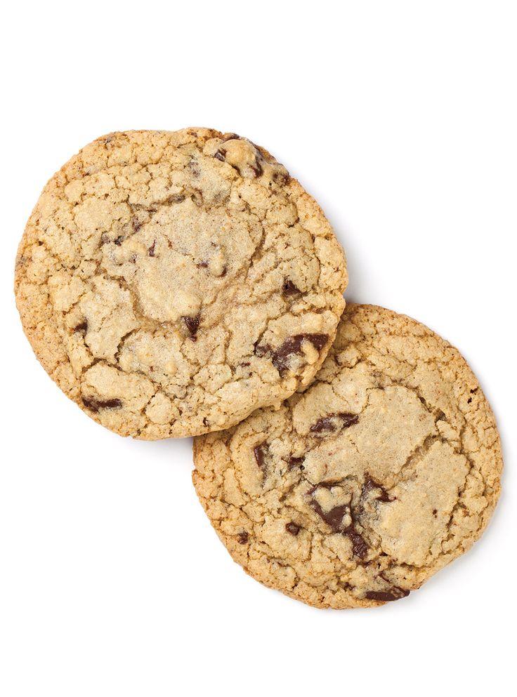 Recette de Ricardo de biscuits moelleux aux brisures de chocolat (version allégée)