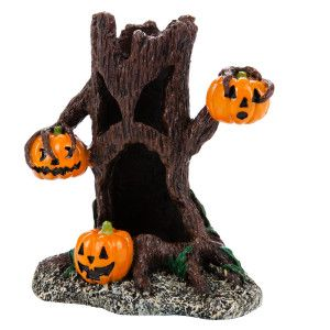 Top Fin® Pumpkin Tree Halloween Aquarium Ornament | Ornaments | PetSmart