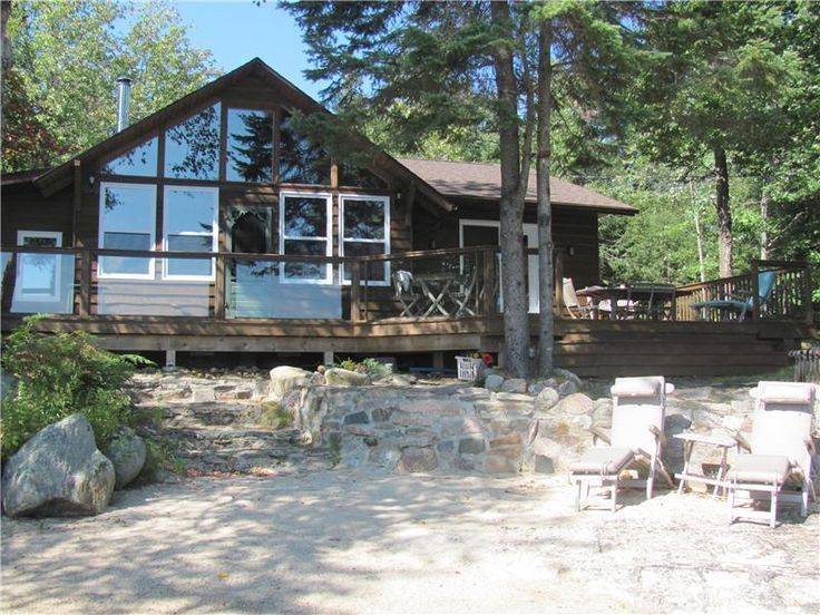 NA --- GL-21164: If you're looking for a peaceful, secluded getaway then this is the cottage for you. This 1400 square foot A-frame is nestled 15 feet from the water's edge in  ...