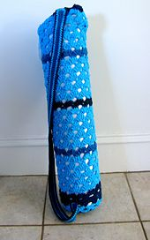 Ravelry: Better Yoga Mat Bag pattern by Laura Adams