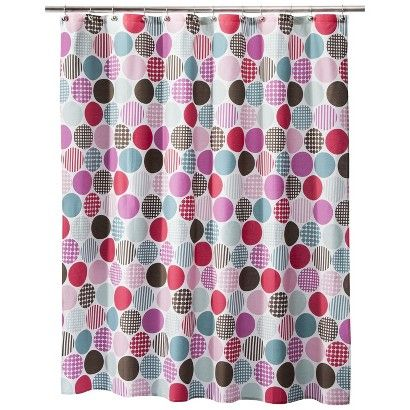 Fun Shower Curtains For Adults Dot Curtain Target J Throughout Design Decorating