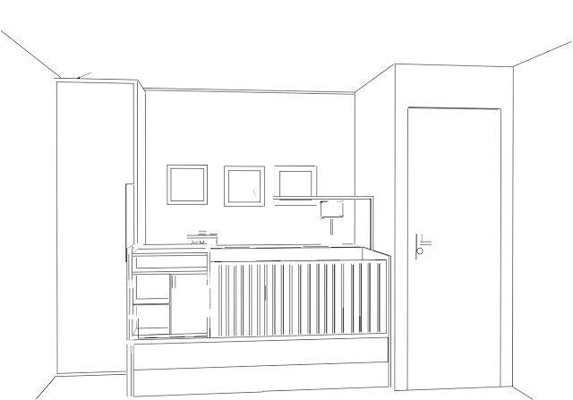 Projeto quarto de bebê