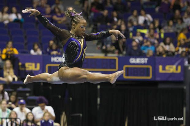 LSU gymnast scores perfect 10s for incredible hip-hop floor routine (video) **Be unique, be you!!!