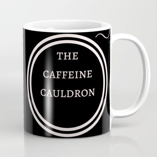 The Caffeine Cauldron. #coffee is #magic #Society6
