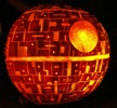 Carving the Death Star - Pattern and tutorial is at http://www.fantasypumpkins.com/carving-the-deathstar.htm