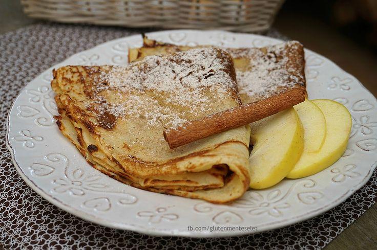 Palacsintaimádóknál nem csak a töltelék változik, hanem a tészta is! :) Az almás palacsinta az egyi...
