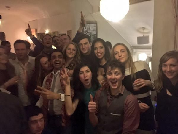 Great fun last night at our late Christmas party - what fun & an amazing team to work with!