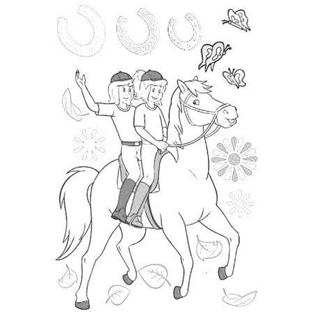 ausmalbilder bibi und tina | ausmalbilder, ausmalen, ausmalbilder pferde zum ausdrucken