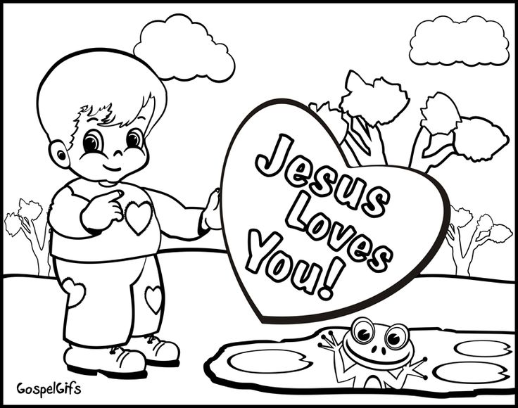 religious coloring pages for toddlers - photo#9