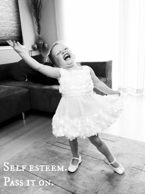 Ah! I absolutely love this photo :). I hope I have a crazy, confident kid just like her :)