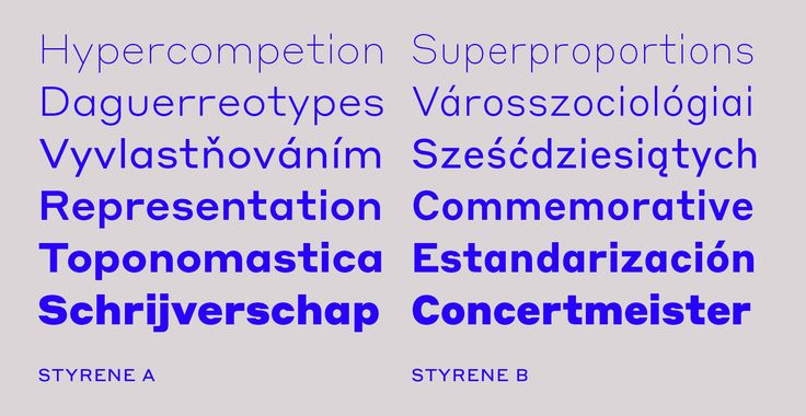 Styrene by Commercial Type
