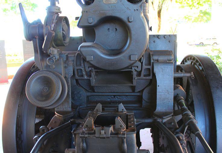 WW1 German Gun 21cm Morser 10  [ Nr 406. 1916 ] Childers QLD - War Memorial