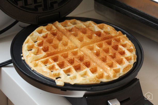 The Best Budget Waffle Maker | The Cuisinart Round Classic Waffle Maker makes consistently excellent waffles and its compact design is perfect for small spaces. It produces only one round, thin waffle at a time (even smaller than our runner-up), so this is only a good choice for those who don't need a high-volume waffle maker.