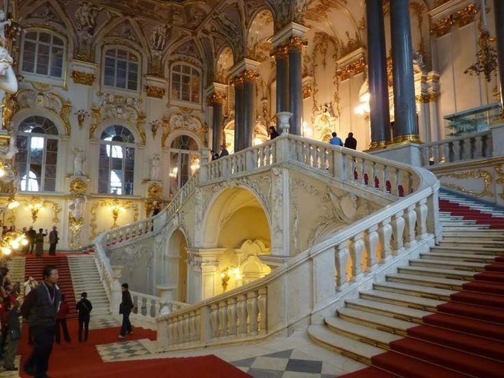 Эрмитаж. Музей Мира. Главная лестница.