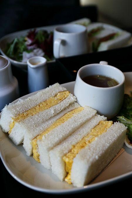 Japanese Scrambled Egg Sandwiches たまごサンド
